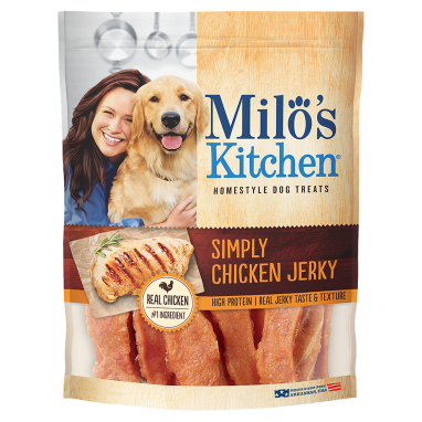 Milo's Kitchen® Simply Chicken Jerky Dog Treats;12.5 oz.