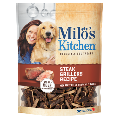 Milo's Kitchen® Steak Grillers Recipe Dog Treats;18 oz.