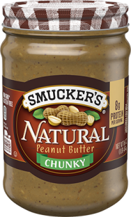 Smucker's® Natural Chunky Peanut Butter (26 oz)