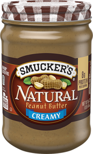 Smucker's® Natural Creamy Peanut Butter (16 oz)