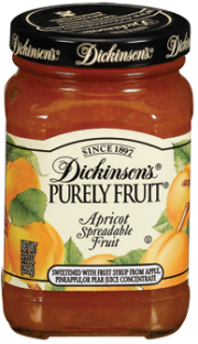 Dickinson's® Purely Fruit® Apricot Spreadable Fruit (9.5 oz)