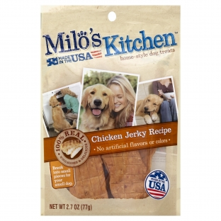 Milo's Kitchen® Chicken Jerky Recipe Dog Treats;2.7 oz.