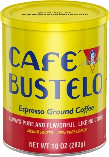 Café Bustelo® Espresso Style Ground Coffee 10 oz. Can