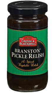 Crosse & Blackwell® Branston® Pickle Relish A Spiced Vegetable Relish