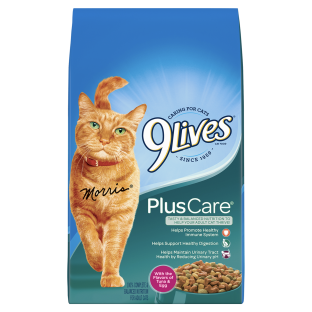 9Lives Plus Care® (3.15 LB Bag)