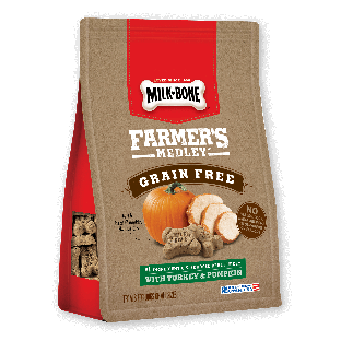 Milk-Bone® Farmer's Medley™ Grain Free With Turkey & Pumpkin Biscuits