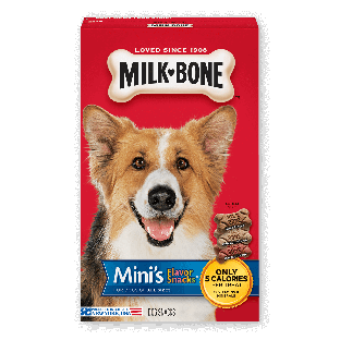 Milk-Bone® Mini's Flavor Snacks® Dog Biscuits;15 oz.