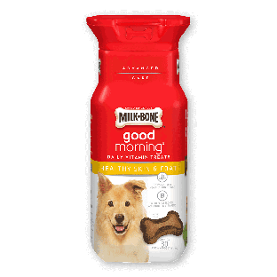 Milk-Bone® Good Morning® Daily Vitamin Treats - Healthy Skin & Coat;6 oz
