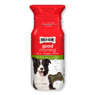 Milk-Bone® Good Morning® Daily Vitamin Dog Treats - Total Wellness;6 oz