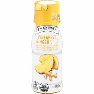 R.W. Knudsen Organic Pineapple Ginger Shot, 2.5 Fluid Ounce