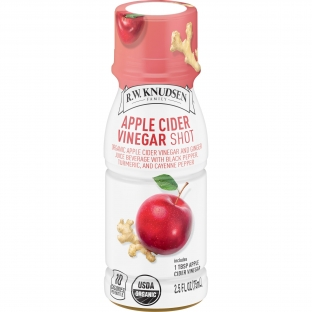 R.W. Knudsen Family, 2.5 oz. Organic Juice Beverage Shots, Apple Cider Vinegar