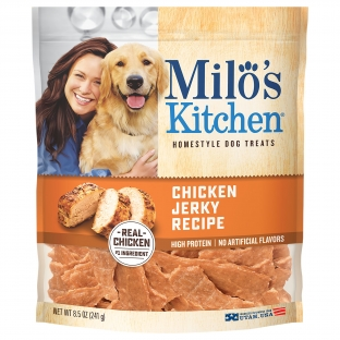 Milo's Kitchen® Chicken Jerky Recipe Dog Treats;8.5 oz.