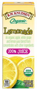 R.W. Knudsen Family® Organic Lemonade Juice Boxes;6.75 oz. (Pack of 4)