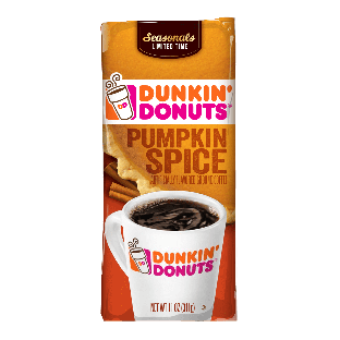 Dunkin' Donuts® Pumpkin Spice Flavored Coffee (11 oz)