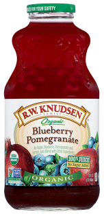 R.W. Knudsen Family® Organic Blueberry Pomegranate Juice;32 oz.