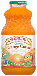 R.W. Knudsen Family® Organic Carrot Orange Juice;32 oz.