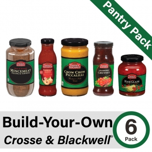 Build-Your-Own Crosse & Blackwell Pantry Pack of 6