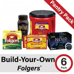 Build-Your-Own Folgers Pantry Pack of 6