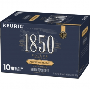 1850™ Pioneer Blend;Medium Roast Coffee;K-Cup® Pods (10 ct)