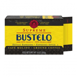 Supreme by Bustelo® Espresso Style Ground Coffee 10 oz. Brick