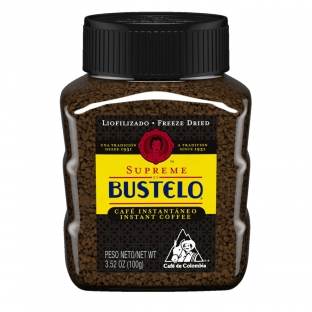 Supreme by Bustelo® Freeze Dried Instant Coffee 3.52 oz. Jar