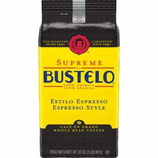 Supreme by Bustelo® Espresso Style Whole Bean Coffee 32 oz. Bag
