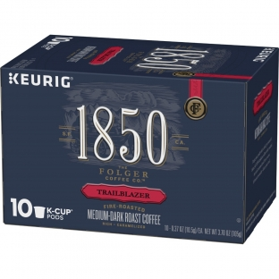 1850™ Trailblazer;Medium-Dark Roast Coffee;K-Cup® Pods (10 ct)