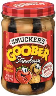 Smucker's® Goober Strawberry® Peanut Butter and Jelly Stripes (18 oz)