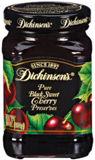 Dickinson's® Black Sweet Cherry Preserves (10 oz)