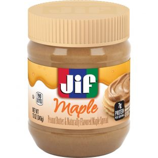 Jif Maple Peanut Butter & Naturally Flavored Maple Spread
