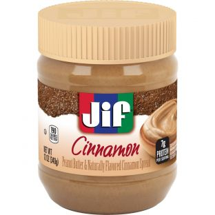 Jif Cinnamon Peanut Butter & Naturally Flavored Spread