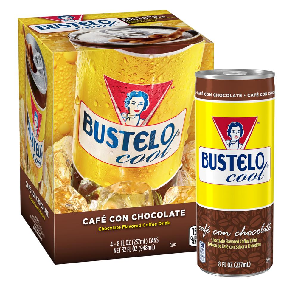 Bustelo Cool® Café con Chocolate Coffee Drink with Milk 8 oz. Can