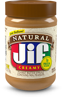 Jif® Natural Creamy Peanut Butter Spread