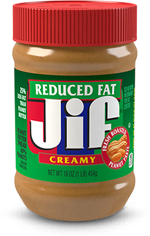 Jif® Reduced Fat Creamy Peanut Butter Spread